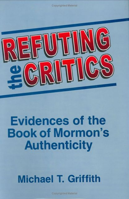 Refuting the Critics book cover