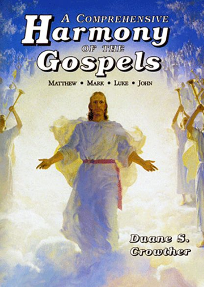 A Comprehensive Harmony of the Gospels book cover