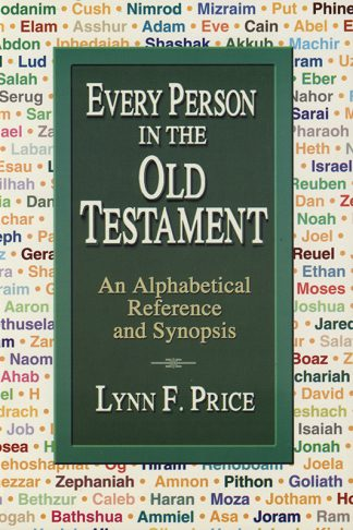Every Person In The Old Testament book cover