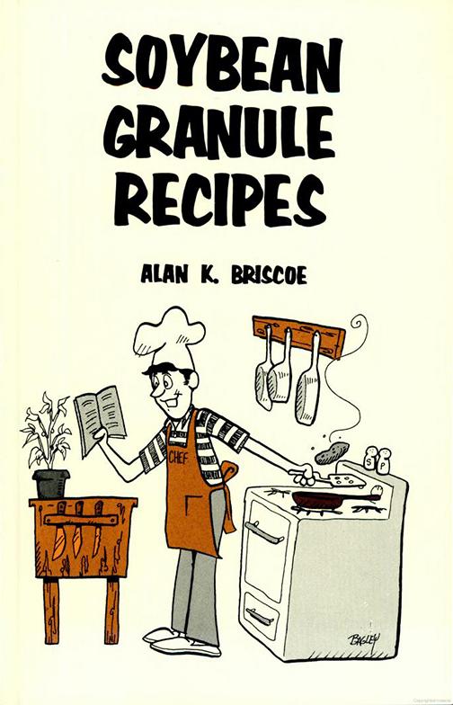 Soybean Granule Recipes book cover