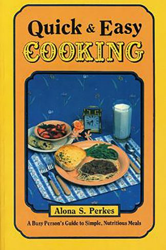Quick & Easy Cooking book cover