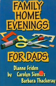 Family Home Evenings for Dads book cover