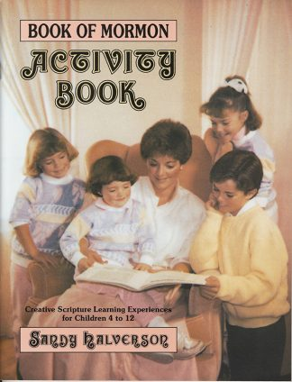 Book of Mormon Activity Book cover