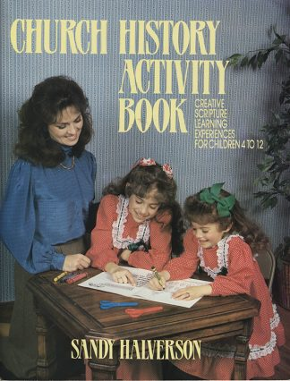 Church History Activity Book cover