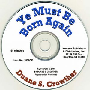 Ye Must Be Born Again cd cover