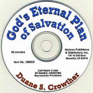 God's Eternal Plan of Salvation cd cover