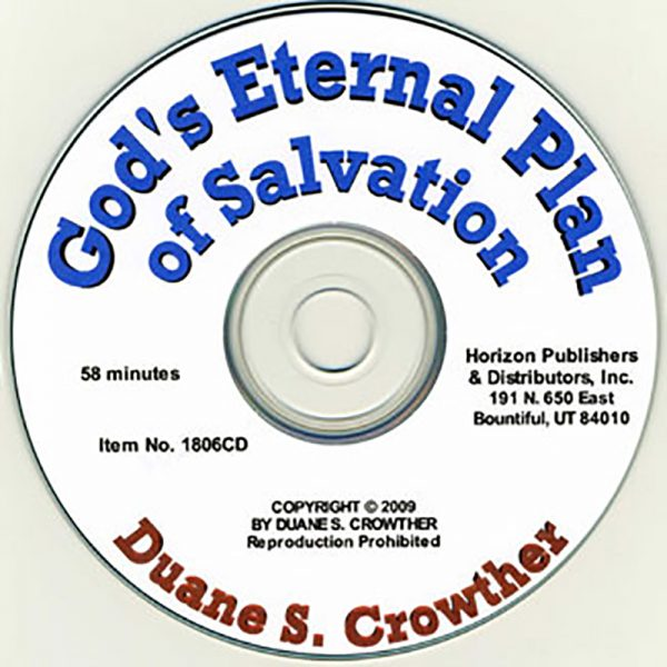 God's Eternal Plan of Salvation cd cover