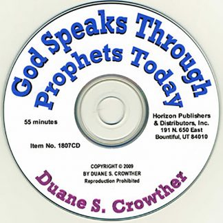 God Speaks Through Prophets Today book cover