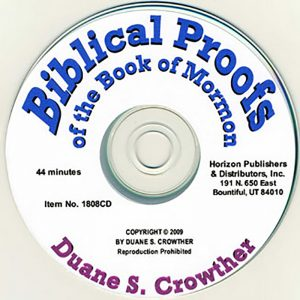 Biblical Proofs of the Book of Mormon cd cover