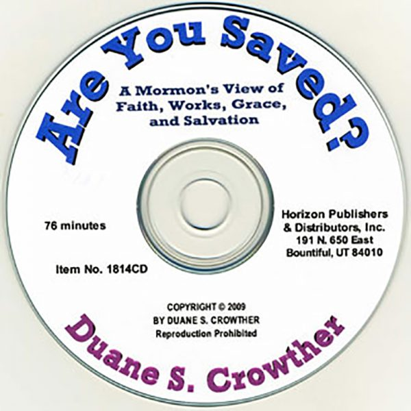 Are You Saved? cd cover