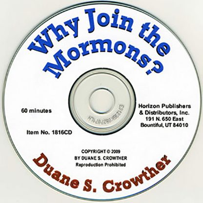 Why Join the Mormons? cd cover