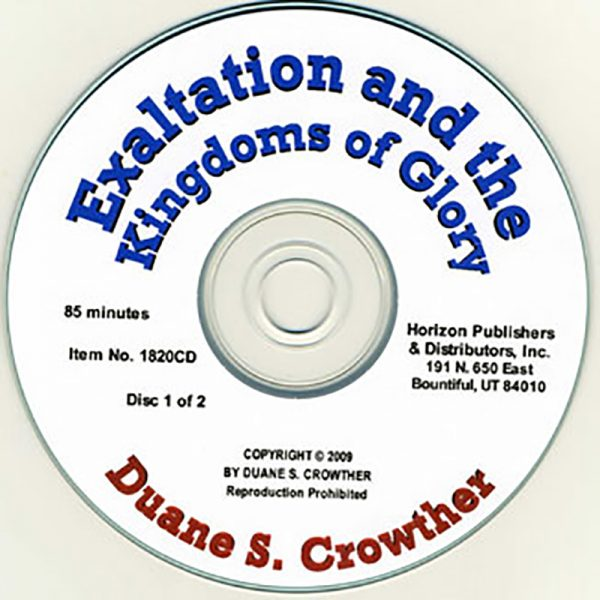 Exaltation and the Kingdoms of Glory cd cover