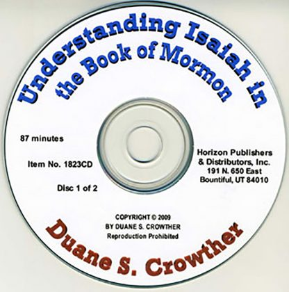 Understanding Isaiah in the Book of Mormon cd cover