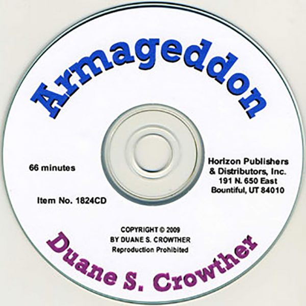 Armageddon cd cover