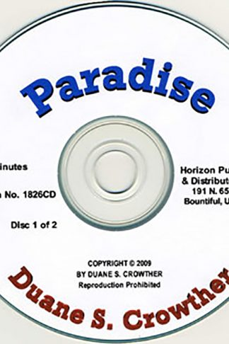 Paradise cd cover