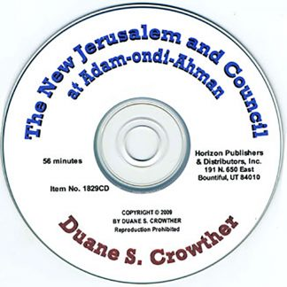 The New Jerusalem and Council at Adam-ondi-Ahman cd cover