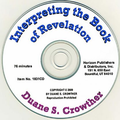 Interpreting the Book of Revelation cd cover