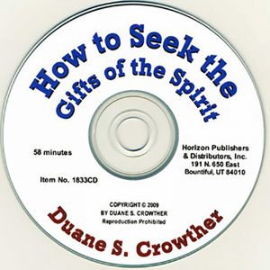 How to Seek the Gifts of the Spirit cd cover