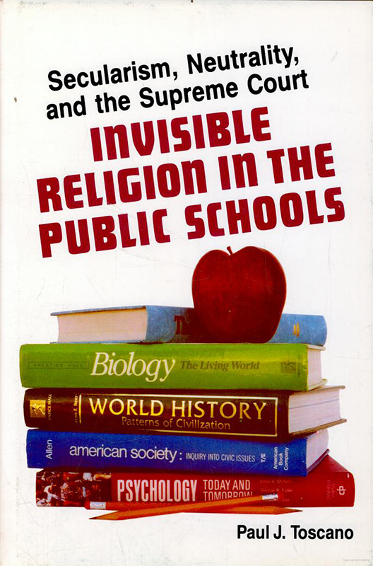Invisible Religion in the Public Schools book cover