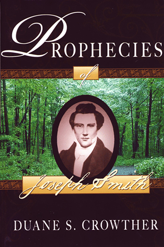 Prophecies of Joseph Smith book cover