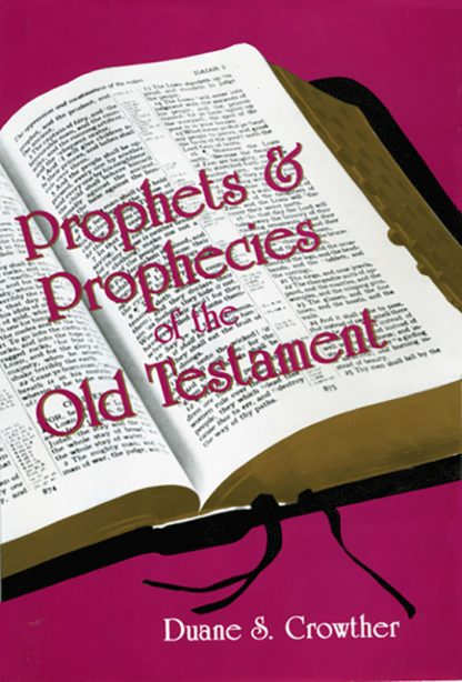 Prophets and Prophecies of the Old Testament book cover