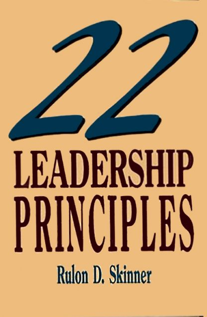22 Leadership Principles book cover