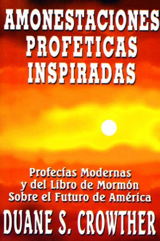Amonestaciones Profeticas Inspiradas book cover