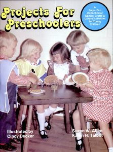 Projects For Preschoolers book cover