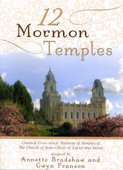 12 Mormon Temples book cover