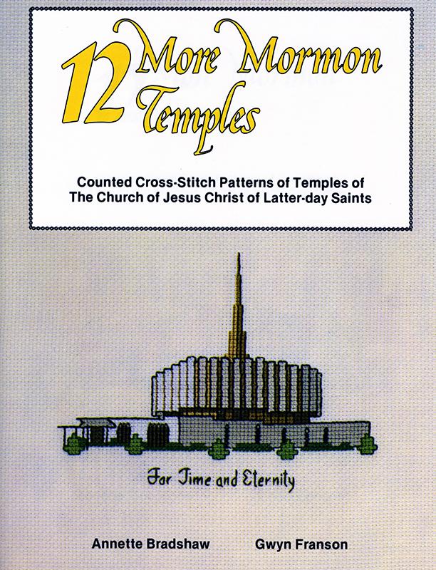 12 More Mormon Temples book cover