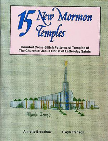 15 New Mormon Temples book cover