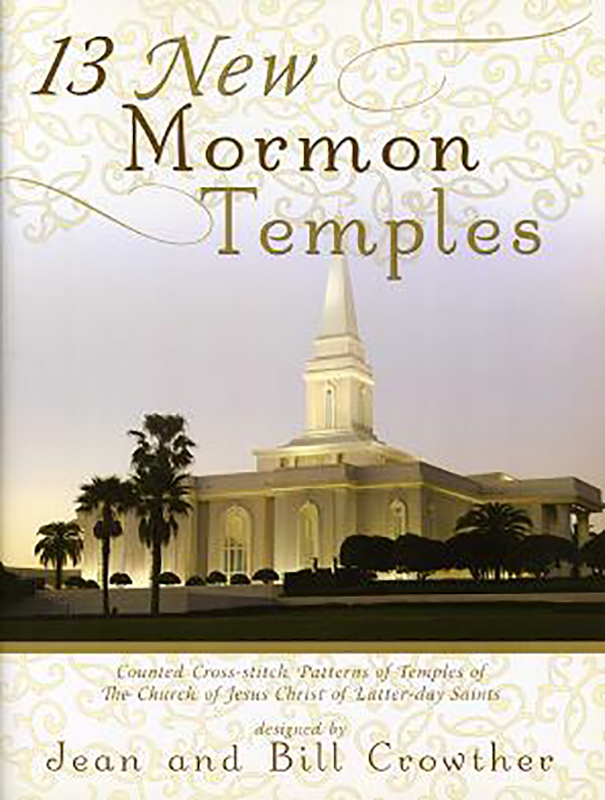 13 New Mormon Temples book cover