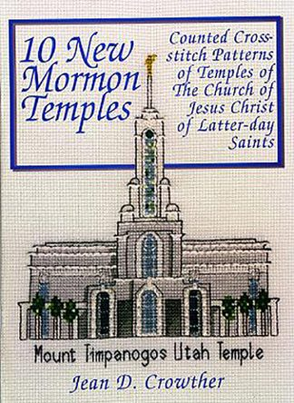 10 New Mormon Temples book cover