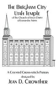 The Brigham City Utah Temple book cover