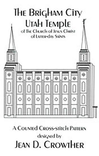 The Brigham City Utah Temple book cover