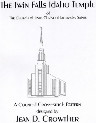 The Twin Falls Idaho Temple book cover