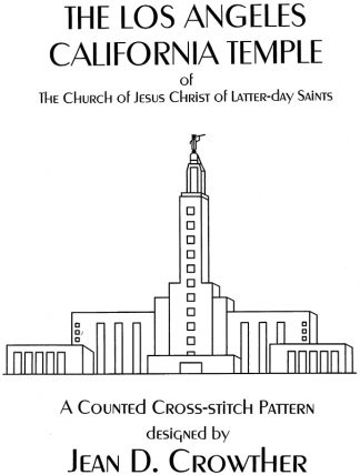 The Los Angeles Califoria Temple book cover