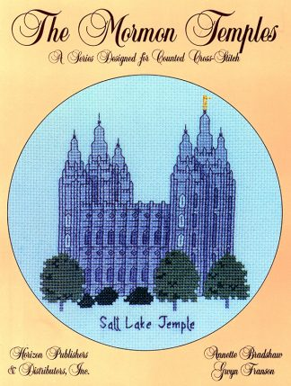 The Mormon Temples: Salt Lake Temple book cover