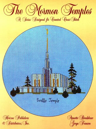 The Mormon Temples: Seattle Temple book cover