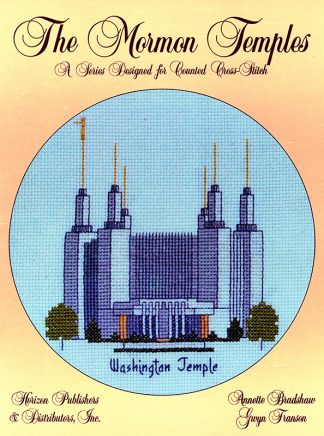 The Mormon Temples: Washington Temple book cover