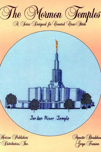 The Mormon Temples: Jordan River Temple book cover