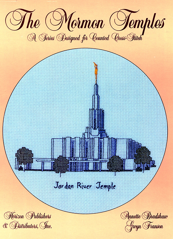 The Mormon Temples: Jordan River Temple book cover