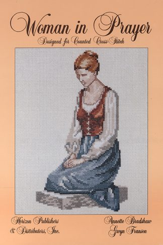 Woman in Prayer book cover