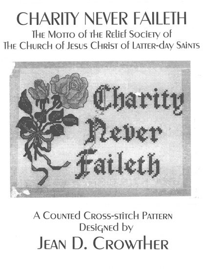 Charity Never Faileth book cover