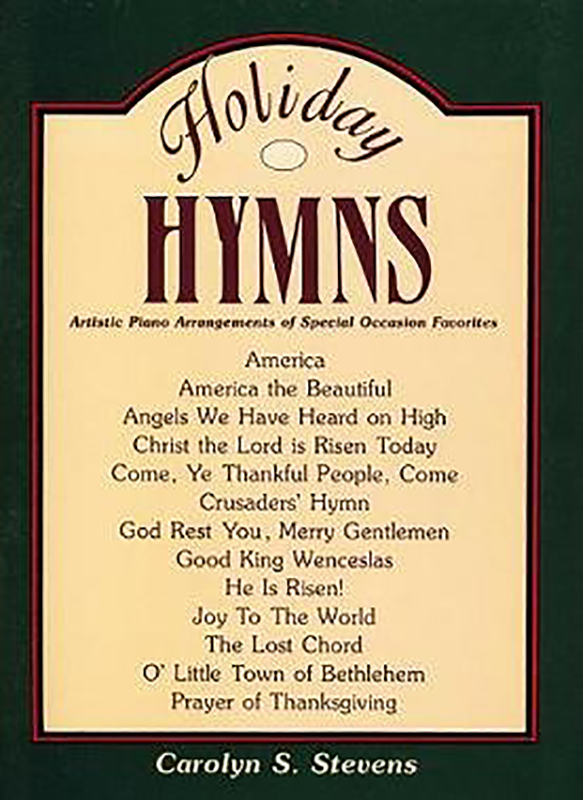 Holiday Hymns book cover