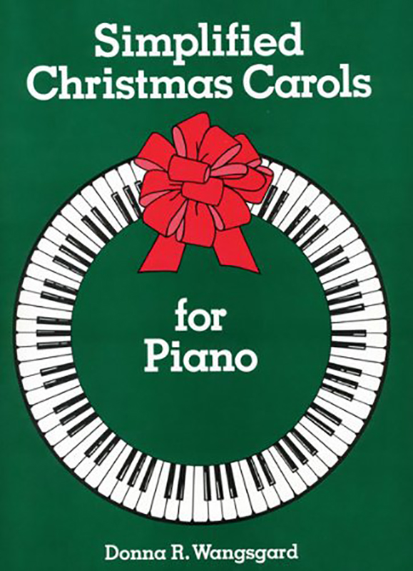 Simplified Christmas Carols book cover