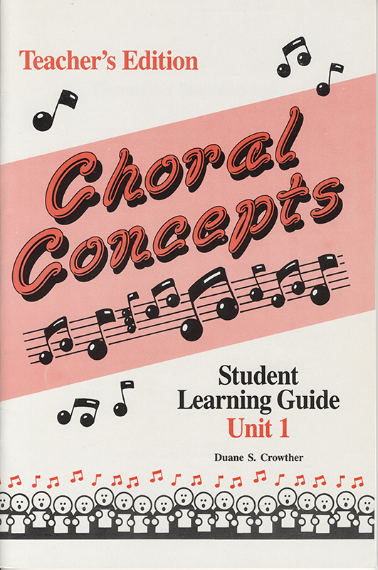 Teachers Edition Choral Concepts book cover