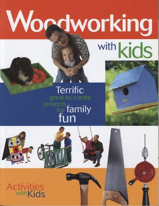 Woodworking with Kids book cover