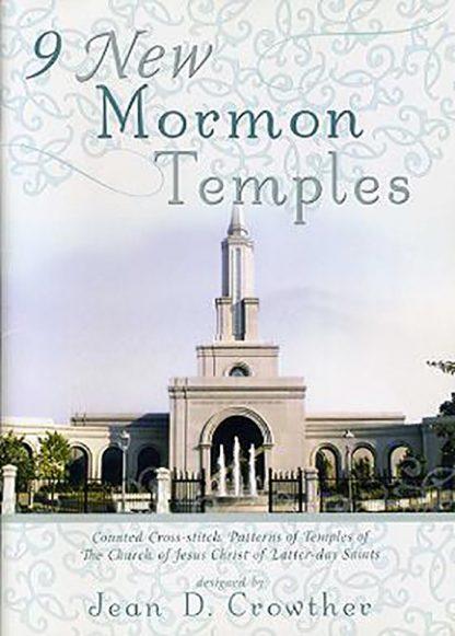 9 New Mormon Temples book cover