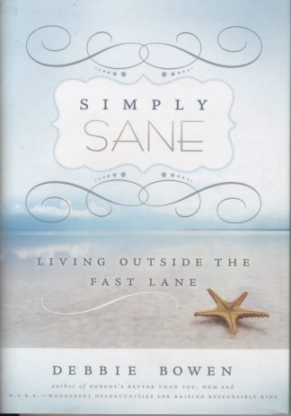 Simply Sane book cover